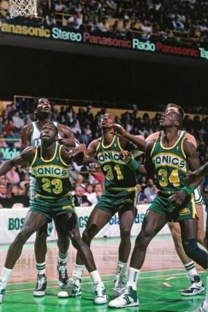 1988 Seattle Supersonics Season