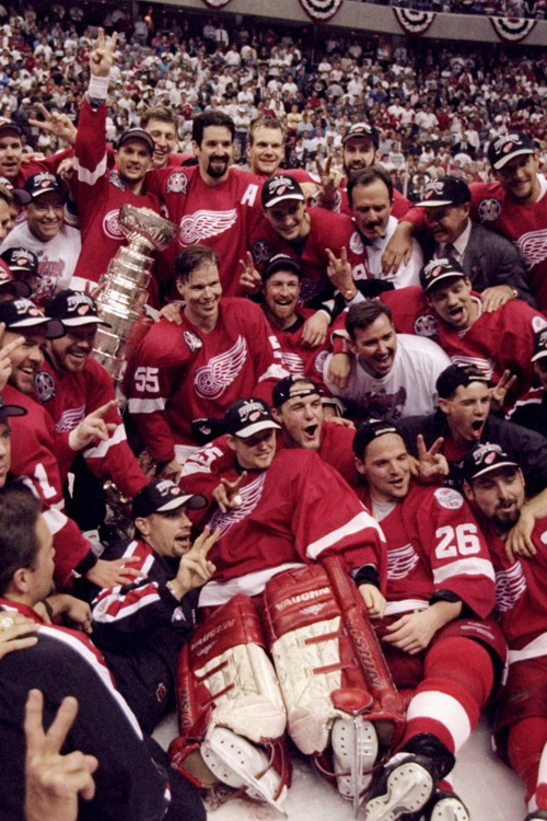 1998 Detroit Red Wings season