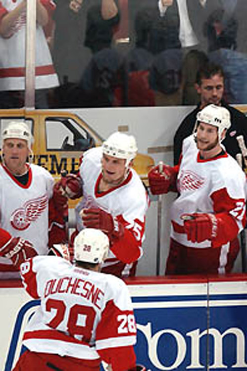 2001 Detroit Red Wings season