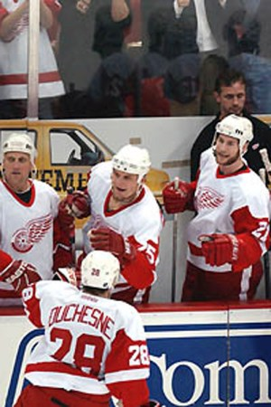 2000-01 Detroit Red Wings Season