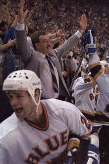 1985-86 St. Louis Blues Season