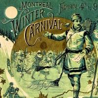 1884 Montreal Winter Carnival Tournament program