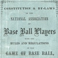National Association of Base Ball Players Logo