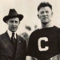 Superstar Jim Thorpe and owner Ralph Hay, key figures in football's Ohio League