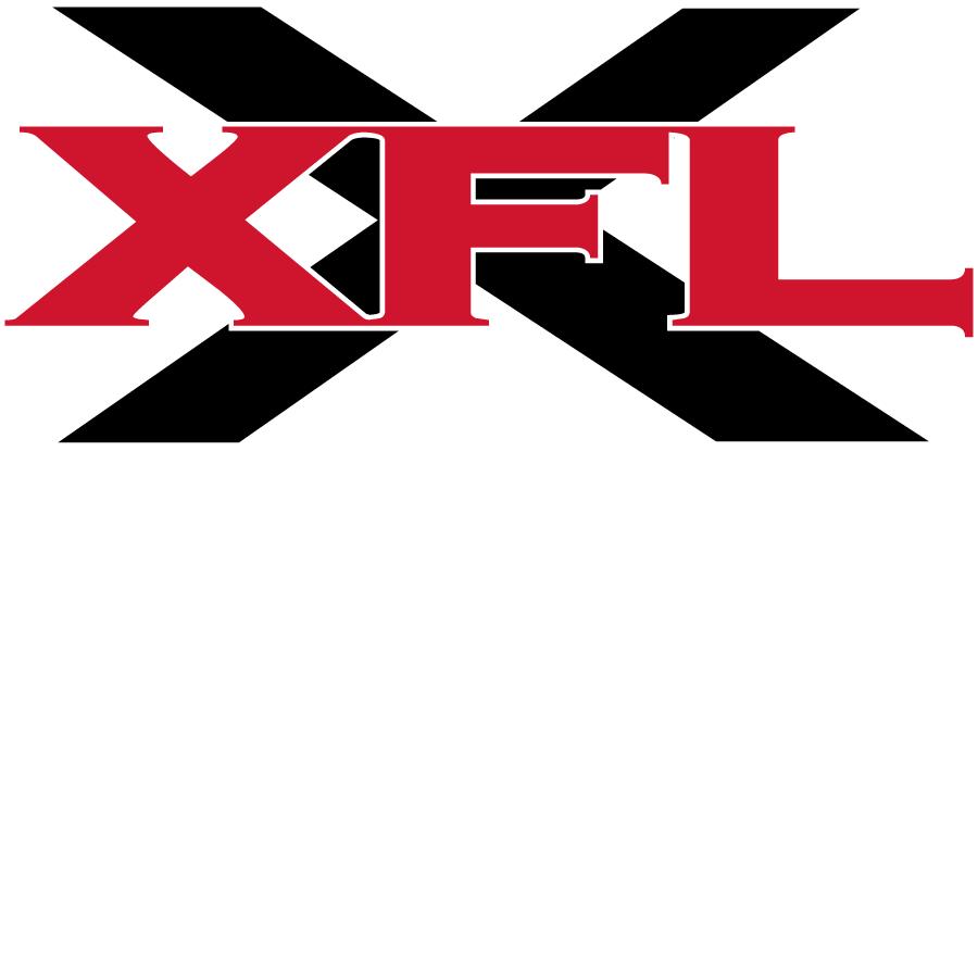 XFL Football League Logo