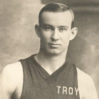 Ed Wachter played for Troy in the Hudson River Basketball League