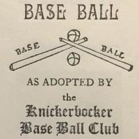 The Knickerbocker Rules Logo