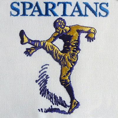 Portsmouth Spartans Logo
