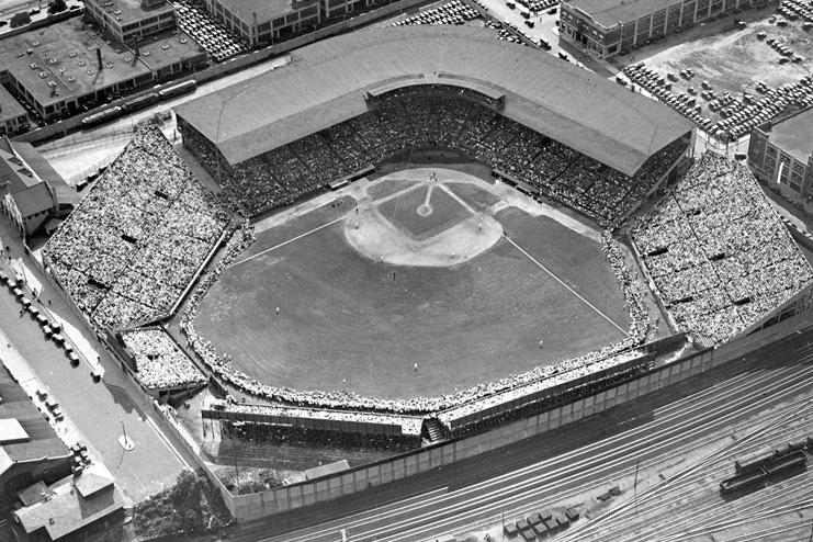 Braves Field in Boston, Mass.