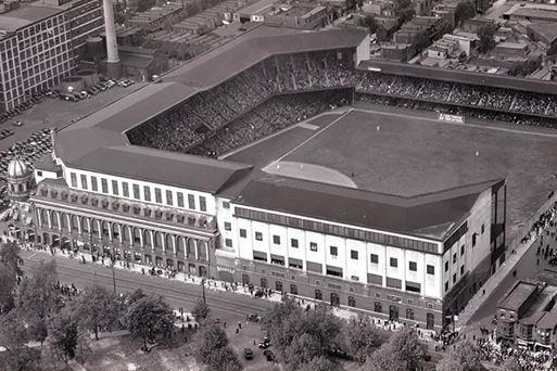 Connie Mack Stadium in Philadelphia, PA
