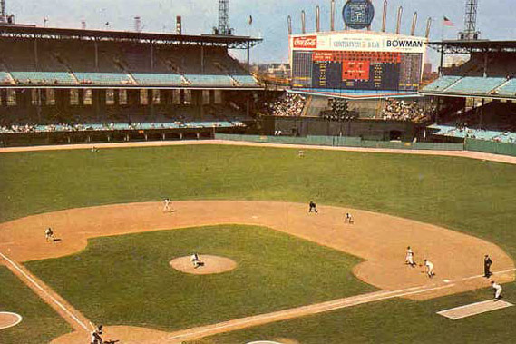 Comiskey Park in Chicago, IL