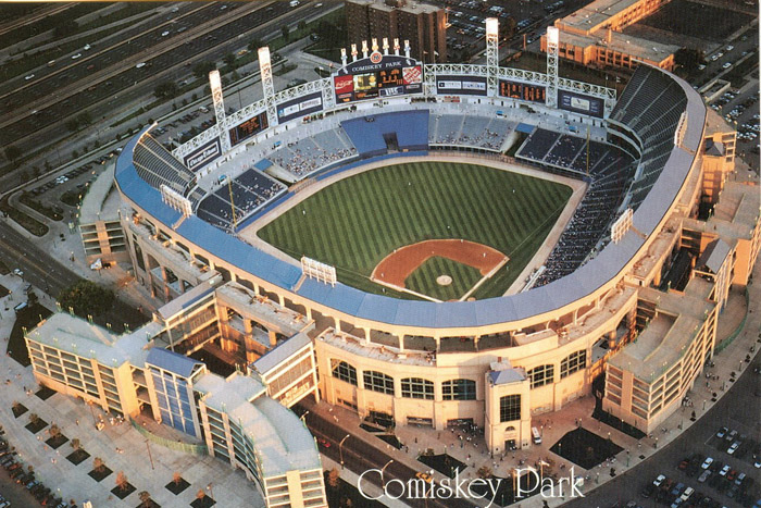 Comiskey Park II in Chicago, Illinois