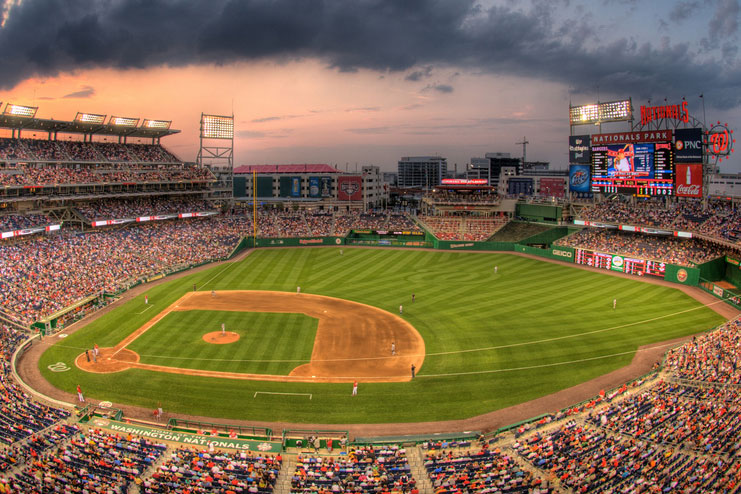 Nationals Park in Washington, D.C.