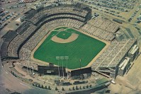 Metropolitan Stadium in Bloomington, MN