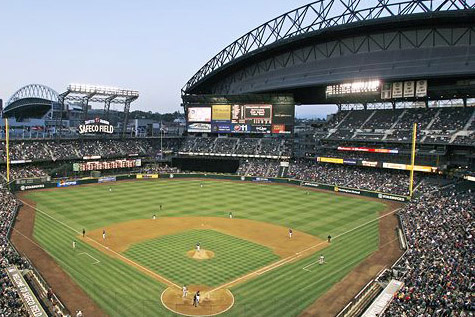 Safeco Field in Seattle, Washington