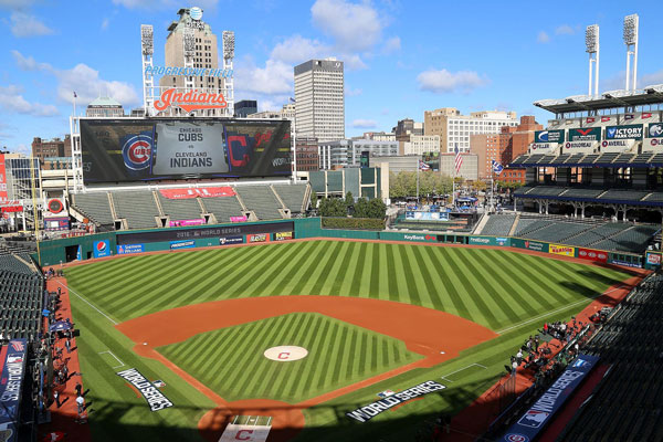 Jacobs Field in Cleveland, Ohio