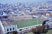Seals Stadium in San Francisco, CA