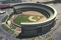 Shea Stadium in Queens, NY