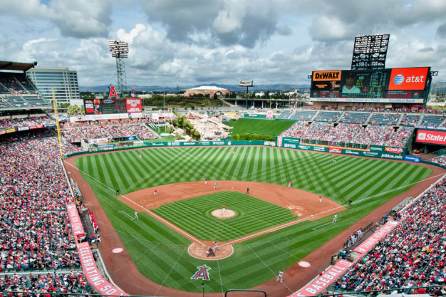 Angel Stadium in Anaheim, California