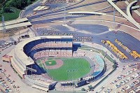 County Stadium in Milwaukee, WI