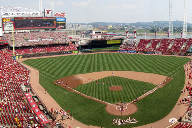 Great American Ball Park in Cincinnati, Ohio