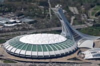 Olympic Stadium in Montreal, Canada