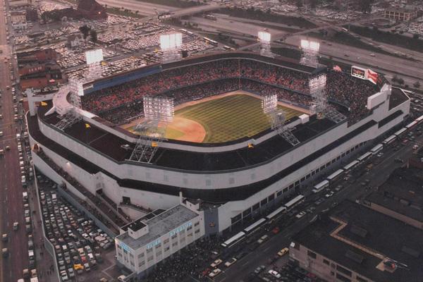 Tiger Stadium in Detroit, MI