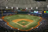 Tropicana Field in St. Petersburg, FL