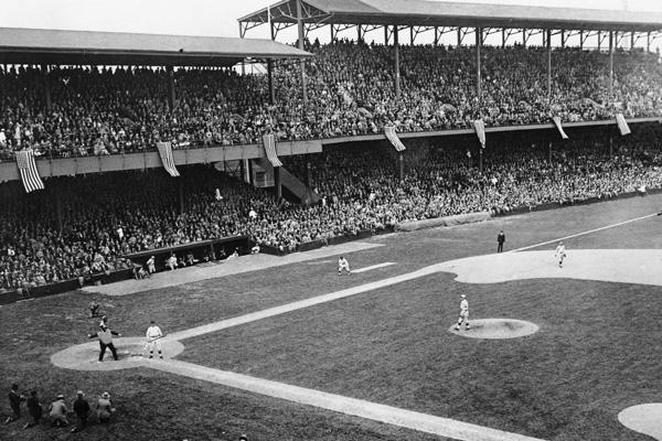 Griffith Stadium in Washington, D.C.