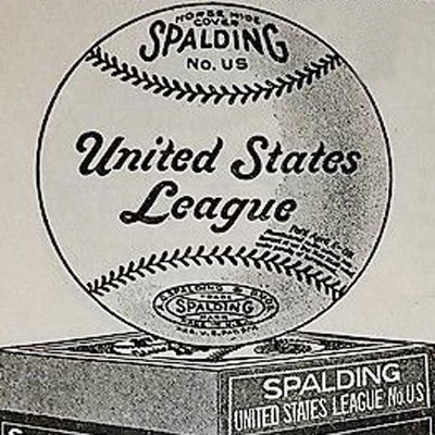Logo for United States Baseball League