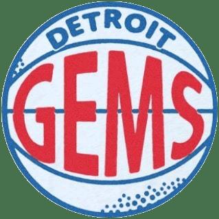 Detroit Gems Logo