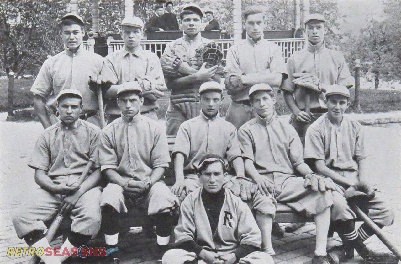 Teammates Babe Ruth St. Mary's School 1911