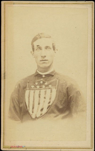 Michael Bub McAtee from 1866 Troy Haymakers Lansingburgh Union Baseball Team Players