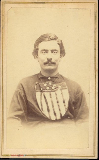 James McCune/McKeon from 1866 Troy Haymakers Lansingburgh Union Baseball Team Players