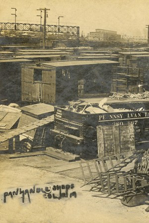 1901 Panhandle railroad team Season