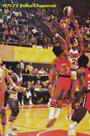 1971-72 Dallas Chaparrals Season
