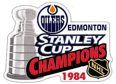 1983-84 NHL Playoffs Logo