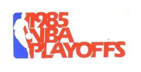 Detroit Pistons - 1984-85 NBA Playoffs Logo
