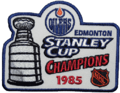 1984-85 NHL Playoffs Logo