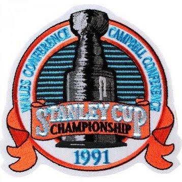 1990-91 NHL Playoffs Logo
