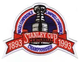1992-93 NHL Playoffs Logo