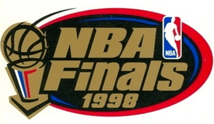 Detroit Pistons - 1997-98 NBA Playoffs Logo