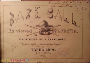 Baseball Illustrations from 1867