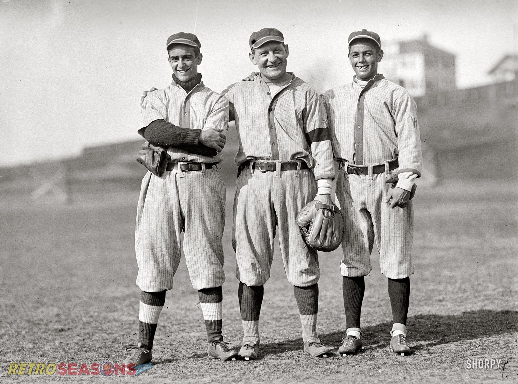 Bench players of the 1913 Senators