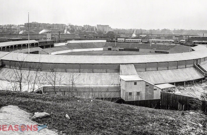 Coogan's Bluff at Polo Grounds
