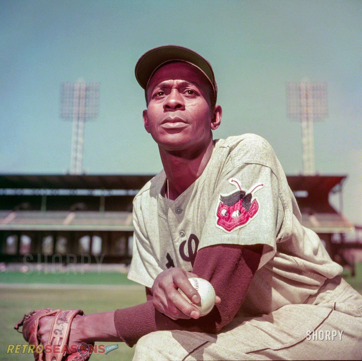 Satchel Paige The St. Louis Browns pitcher in September 1952