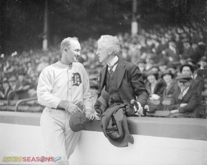 Ty Cobb and Commissioner