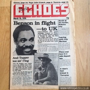 Black Echoes 18 March 1978