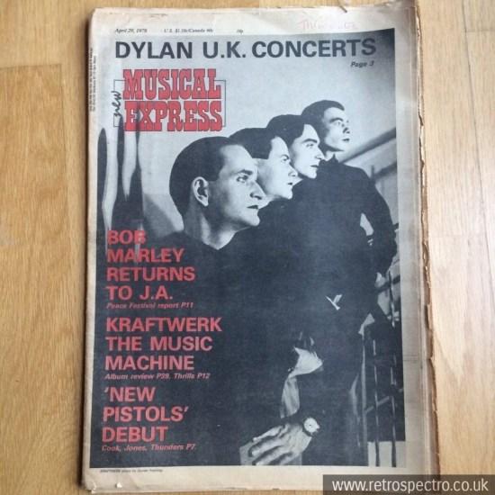 NME April 1978