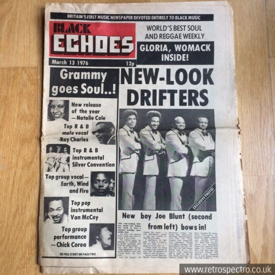 Black Echoes March 1976